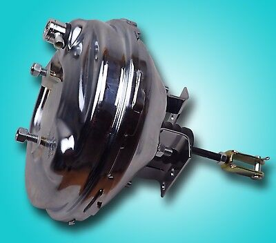 1964-1972  gm A body  9 inch power brake booster chrome delco stamp chevelle gto