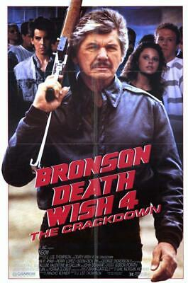 Death Wish 4: The Crackdown 11x17 Movie Poster (1987)
