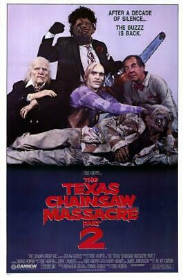 Texas Chainsaw Massacre 2 11x17 Movie Poster (1986)