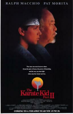 The Karate Kid: Part 2 11x17 Movie Poster (1986)
