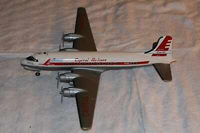 Capital airlines pilot estate DC4 Display model 1/64 scale