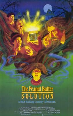 The Peanut Butter Solution 11x17 Movie Poster (1985)