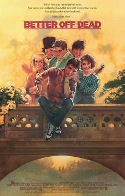 Better Off Dead 11x17 Movie Poster (1985)