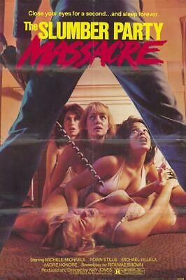 Slumber Party Massacre 11x17 Movie Poster (1982)