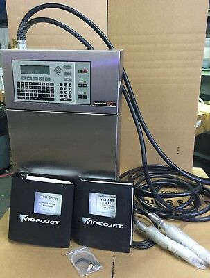 Videojet Excel 273Se Ink Jet Printer Xl273Se # 371680-10 Dual Head Printer New