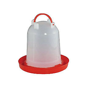 6L DRINKER TOWER Plastic Poultry Chick Drinking Chicken Feeder Chook Aviary