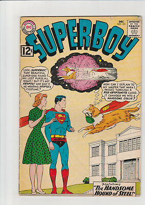 Superboy #101 (Dec 1962, DC) ad page out stories complete