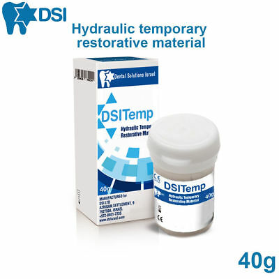 DSI Temp Dental Temporary Filling Tooth Seal Restorative Cavity Material 40g