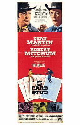 5 Card Stud 11x17 Movie Poster 1968