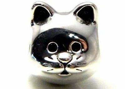 New/tags  Authentic Pandora Silver Charm Curious Cat. #791706