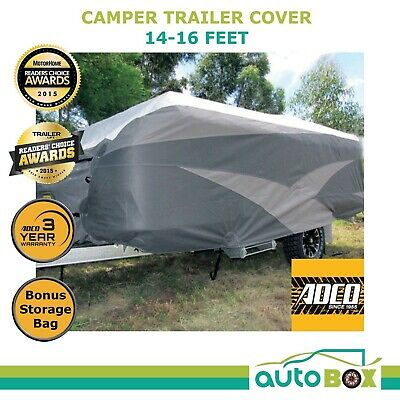ADCO 14-16 ft Premium Camper Trailer Cover 4.8m Suit Jayco Penguin Flamingo Swan