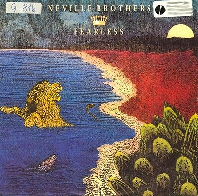 Vinyl Single : Neville Brothers - Fearless / Shake your tambourine (live)
