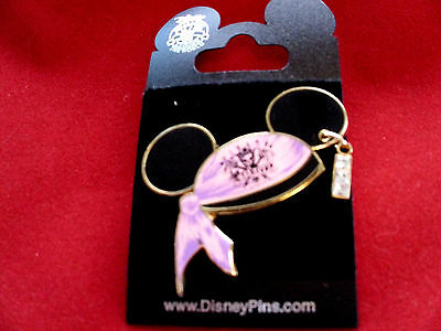 Disney * MICKEY EARS PIRATE PRINCESS HAT * New on Card Trading Pin w/ Dangle