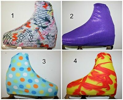 Small-Med Skating Boot Covers For Ice Skates Or Roller Skates