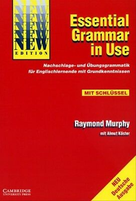 Essential Grammar in Use, German Edition with Answers - Raymond Murphy