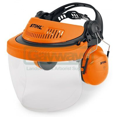STIHL G500 PC Face and ear Protection with polycarbonate visor