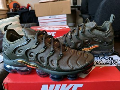 cce616aaa83 NIKE AIR VAPORMAX Plus Cargo Khaki Olive Sequoia Clay Green VM Tuned 924453- 300 -  263.99