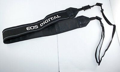 Genuine Canon Digital DSLR EOS Camera - Neck Shoulder Strap 40MM Black & White