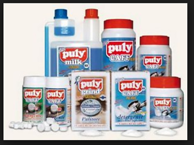 Puly Caff Coffee Cleaner Products Espresso Cleaning Detergents  FULL RANGE
