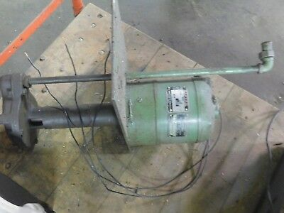 Worthington Coolant Pump Hardinge Lathe 220 Volt 3 Phase 1/4 Hp