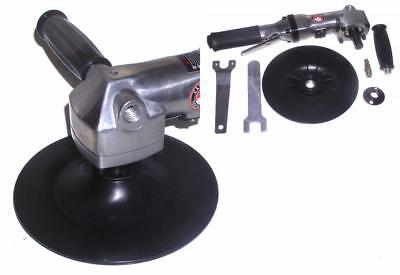 Canadian Tool and Supply 7-Inch Air Angle Buffer / Polisher with 5/8-11nc...