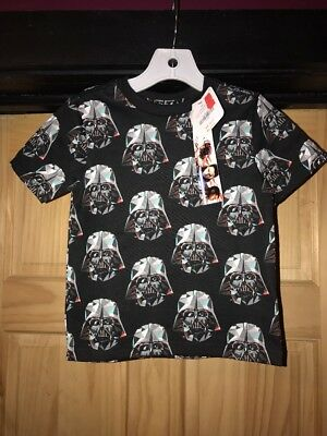 Gymboree boys 2t Star Wars Darth Vader Shirt NWT