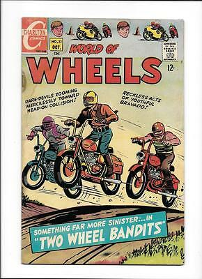 "World Of Wheels #22  [1968 Gd]  ""two Wheel Bandits"""