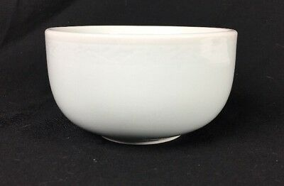 Korean Pale Green Thick Round Smooth Leaf Band Celadon Soup 1 Rice Bowl Korea
