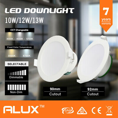 10W/12W/13W IP44 DIM/Non-Dim LED DOWNLIGHT KIT WARM/NATURAL/COOL WHITE