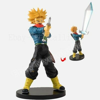 "DragonBall Dragon Ball Super Saiyan 2 Trunks 20cm / 8"" PVC Figure NO Box"