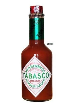 TABASCO SAUCE 355ml - THE ORIGINAL AND THE BEST!