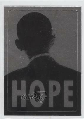 2008 Topps President Obama Collector Trading Cards Stickers Foil 2 Hope Card 0ad