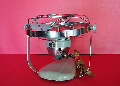 1950's CHICAGO ELECTRIC Co. HANDY BREEZE Desk & Wall Fan - Near Mint