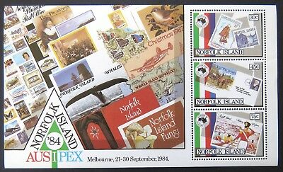 1984 Norfolk Island Stamps - Ausipex '84 - Mini Sheet MNH