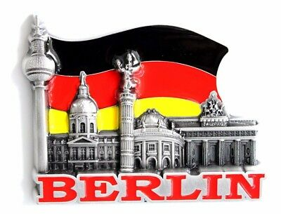Unique Style Metal Fridge Magnet Home Decor Holiday Souvenir Gift from Berlin