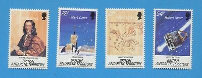 BRITISH ANTARCTIC TERRITORY - scott 129-132 SG 147/50  MNH - Halley's Comet 1985