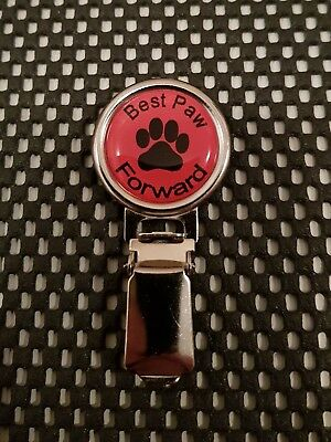 Dog Show Ring Number Clip Pin Fastener - Best Paw Forward