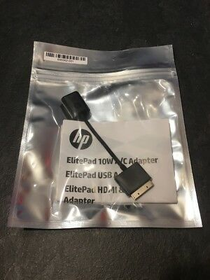 Original HP USB Adapter HSTNN-GD03 H3N46AA - ElitePad 900 G1, 1000 G2 Tablet NEU