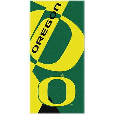 The Northwest Company Oregon Ducks Puzzle Oversized Beach Towel