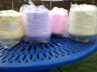 James Brett  Baby 4Ply Machine Knitting Cone Wool Yarn 1X500G Various Colours