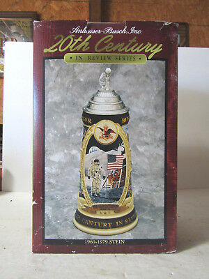 Budweiser 20th Century In Review 1960-1979 Stein Apollo Space Mission MIB
