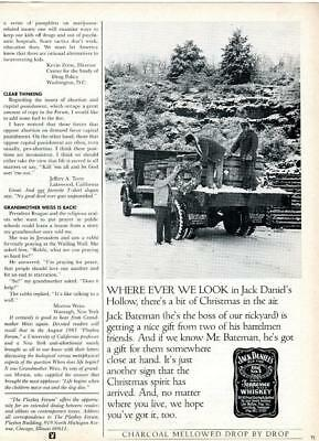 Jack Daniels Whiskey Ad Jack Daniel's Hollow A Bit Of Christmas In The Air