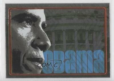 2008 Topps President Collector Trading Cards Stickers Foil #4 Obama Card 0m1