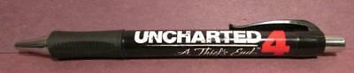 PlayStation Uncharted 4 A Thief's End Collectible Pen!! Super Rare