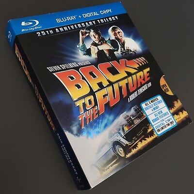 Back to the Future: 25th Anniversary Trilogy [Blu-ray 6-Disc Set, 2010]