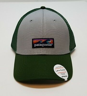 73f0a16e044 Patagonia Board Short Label LoPro Trucker Hat New One Sz Low Crown Drifter  Gray