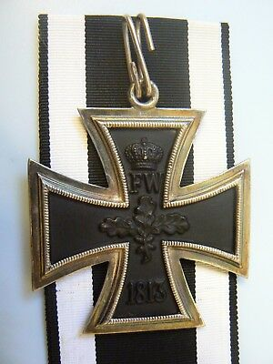 GERMANY,1914 PRUSSIA, GRAND EK WWI IRON CROSS,silver, hallmarked, extremely rare