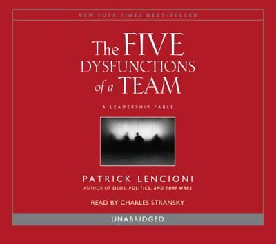 Five Dysfunctions of A Team by Lencioni 9780739332573 (CD-ROM, 2006)