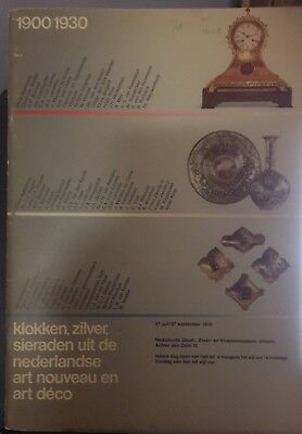 Dutch Arts and Crafts Catalog: Utrecht museum of gold, silver and clocks