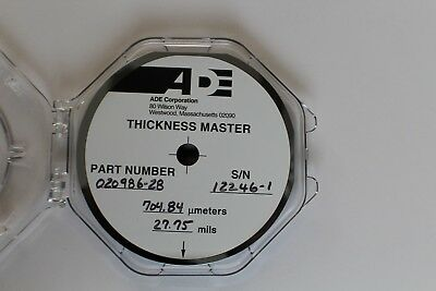 "6"" ADE Thickness Master Wafer"